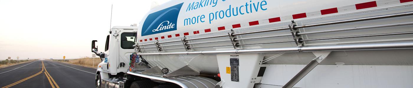 Linde truck